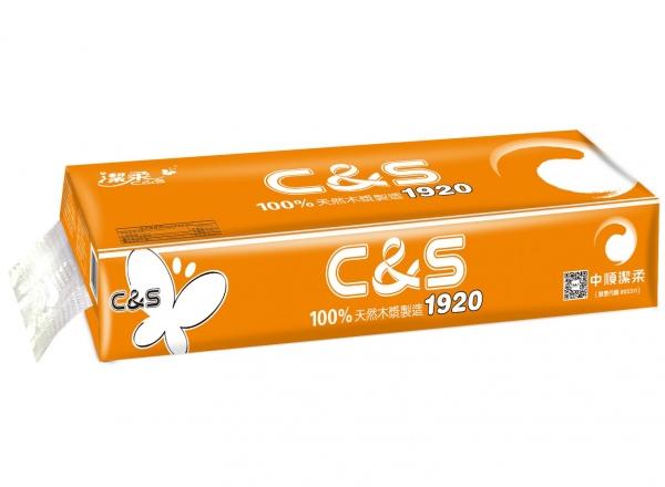 CS028潔柔C&S(12卷橙色)卷紙