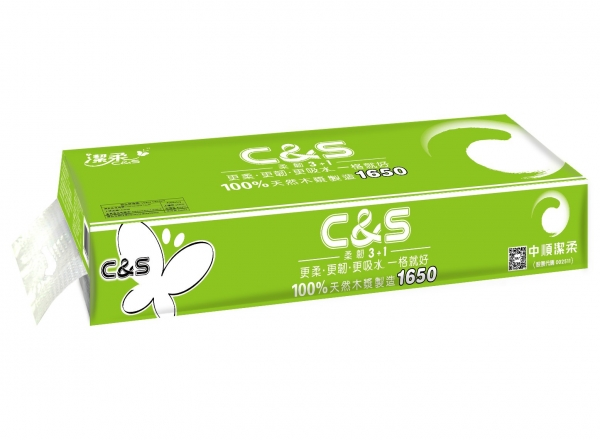 CS016潔柔C&S(12卷綠適)卷紙