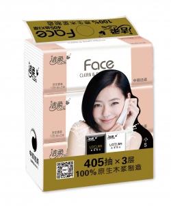 CP028潔柔百花香味軟抽(3包裝)