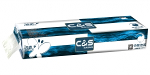 CS007 潔柔藍面紙12卷